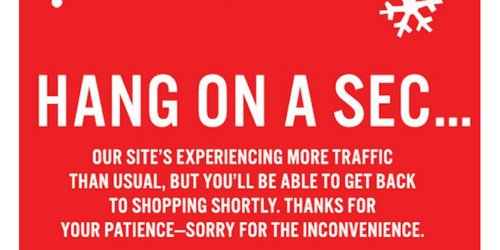 JCrew Site Down